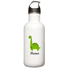 Green Dinosaur (p) Water Bottle