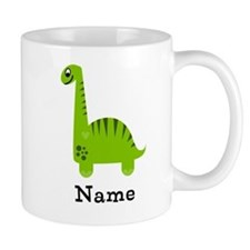 Green Dinosaur (p) Mugs