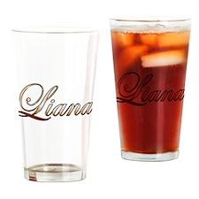 Gold Liana Drinking Glass