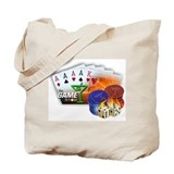 Poker Tote Bag