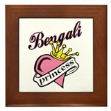Bengali Princess Framed Tile