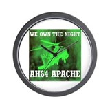 AH64 Apache Wall Clock
