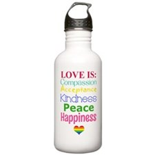 Love Is.... Water Bottle
