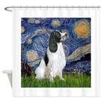 Starry - English Springer7 Shower Curtain