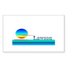 Lawson Rectangle Decal