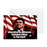 &quot;Ronald Reagan: Liberalism Is A Disease&quot; Card