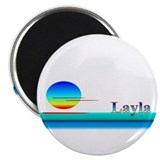 Layla 2.25&quot; Magnet (100 pack)
