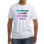 RICH ATTITUDE Fitted T-Shirt