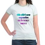 RICH ATTITUDE Jr. Ringer T-Shirt
