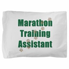 Marathon Training Assistant Pillow Sham