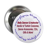 "Cute Gypsy 2.25"" Button (100 pack)"