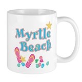 Myrtle Beach Flip Flops - Small Mugs