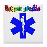 Funny Emt basic Tile Coaster