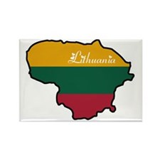 Cool Lithuania Rectangle Magnet (10 pack)