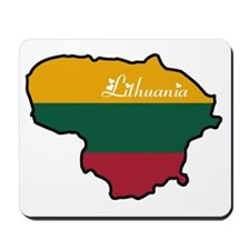 Cool Lithuania Mousepad