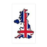 Cool British Rectangle Decal