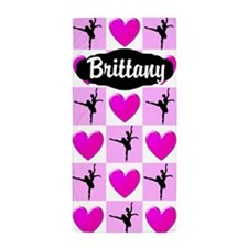 Ballerina Girl Beach Towel