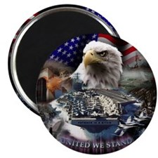 "United We Stand 2.25"" Magnet (100 pack)"