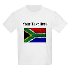 Distressed South Africa Flag (Custom) T-Shirt