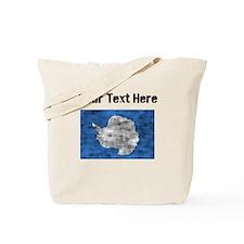 Distressed Antarctica Flag (Custom) Tote Bag