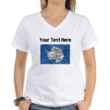 Distressed Antarctica Flag (Custom) T-Shirt