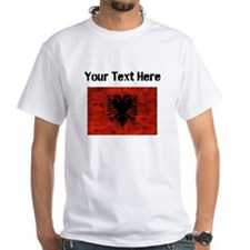 Distressed Albania Flag (Custom) T-Shirt