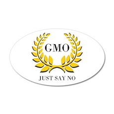 No GMO Wall Decal