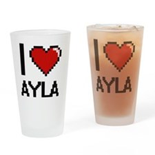 Funny Ayla Drinking Glass