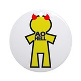 AO HELL Ornament (Round)