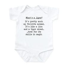 What's a Liger (blk) - Napoleon Infant Bodysuit