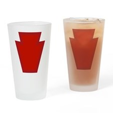 28th Infantry Drinking Glass