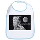 Non Profit Ancient Philosophy Shop: Heraclitus Bib