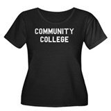 Community College Women's Plus Size Scoop Neck Dar