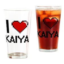 Funny Kaiya Drinking Glass