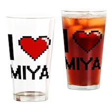 Cute Miya Drinking Glass