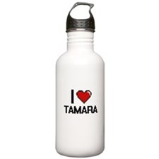 I Love Tamara Water Bottle