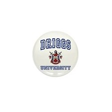 DRIGGS University Mini Button (10 pack)