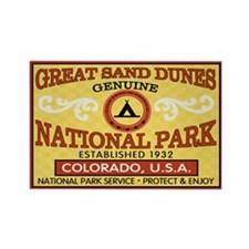 Great Sand Dunes NP Rectangle Magnet (100 pack)