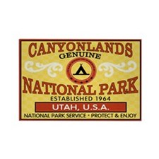 Canyonlands NP Rectangle Magnet (100 pack)