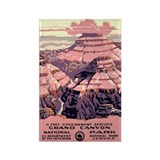 Grand Canyon NP 1930s Rectangle Magnet (100 pack)