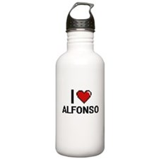 I Love Alfonso Sports Water Bottle