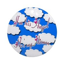 Airman Angel Ornament (Round)