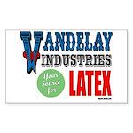 Vandelay Industries Rectangle Sticker