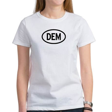 Dem - Democrat Womens T-Shirt