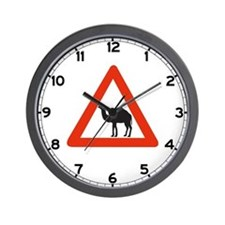 Danger Camels - UAE Wall Clock