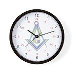 Masonic 24 Hour Clock