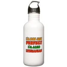 Not Just Perfect Lithuanian Water Bottle
