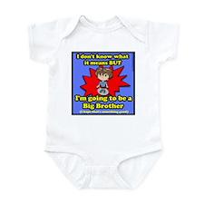 BB Dont know what it means Infant Bodysuit