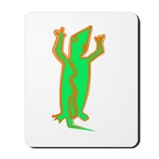 """Green Lizard"" Mousepad"