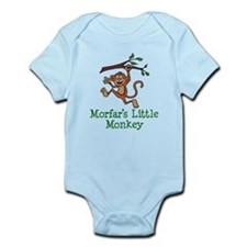Morfar's Little Monkey Body Suit